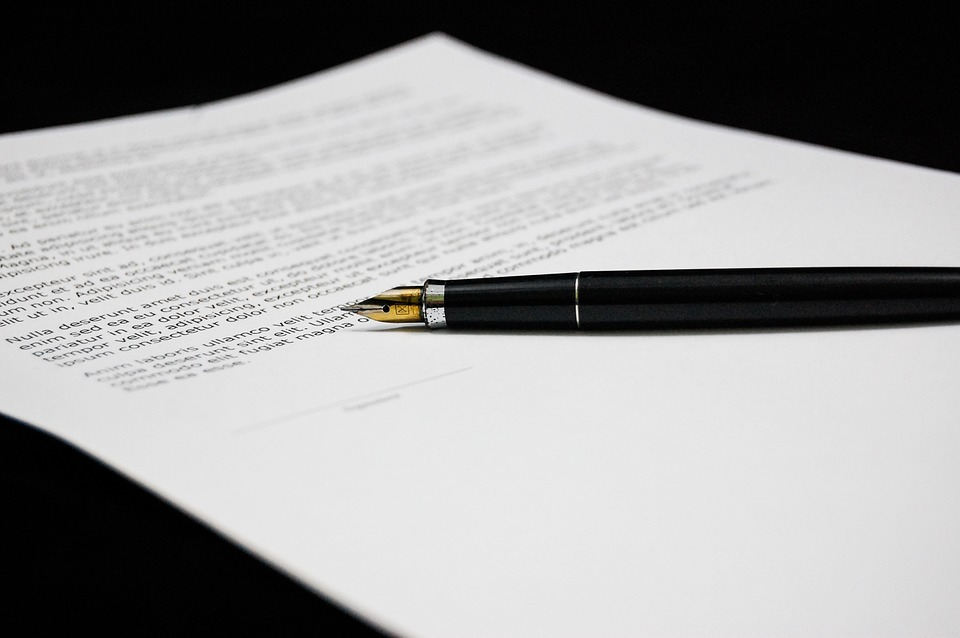 ¿Qué documentos debemos firmar?